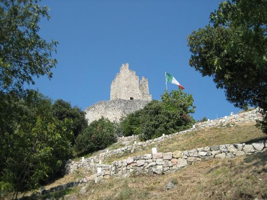 Arco castle summit