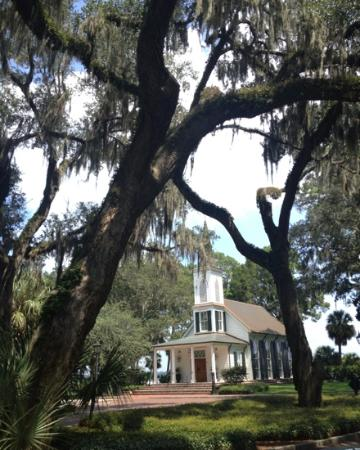Montage Palmetto Bluff: the little chapel where my friend got married