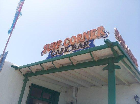 Surf Corner Cafe Bar: surf corner