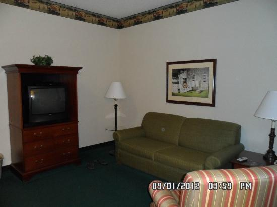 Country Inn & Suites By Carlson, Lancaster (Amish Country): Living Room