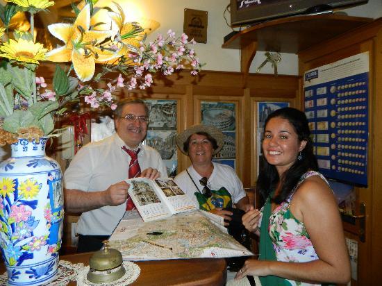 Welrome Hotel: Gentileza e simpatia