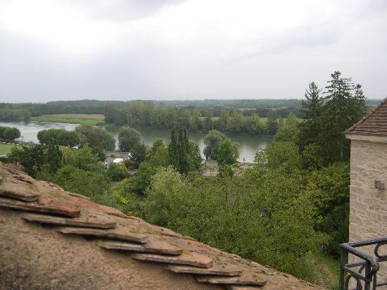La Tour du Tresorier : suite Saone:vista dalla terrazza
