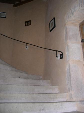 La Tour du Tresorier : le scale