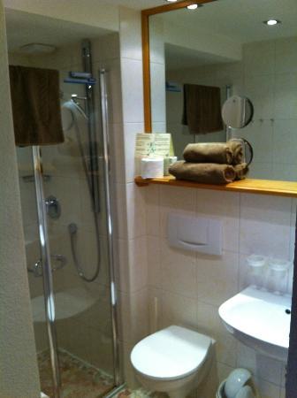 Landhotel Alphorn : Dusche/WC