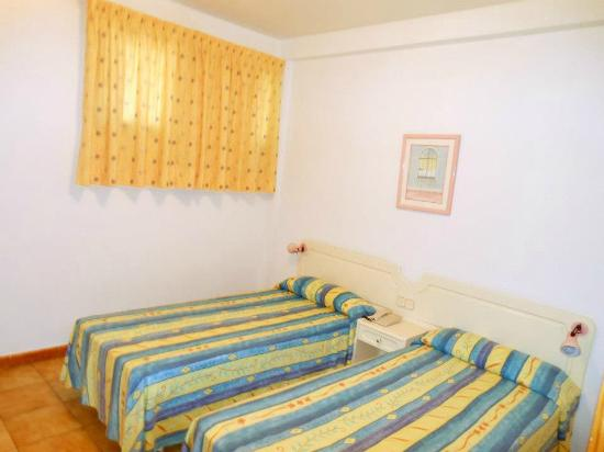 Alameda de Jandia Aparthotel: Camera da letto