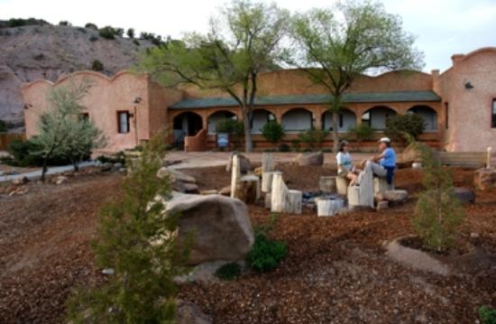 Ojo Caliente Mineral Springs Resort and Spa: The Historic Hotel was built in 1916 and is one type of the many lodging options at Ojo.