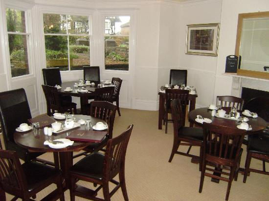 Balmoral Guest House Darlington: Dining room