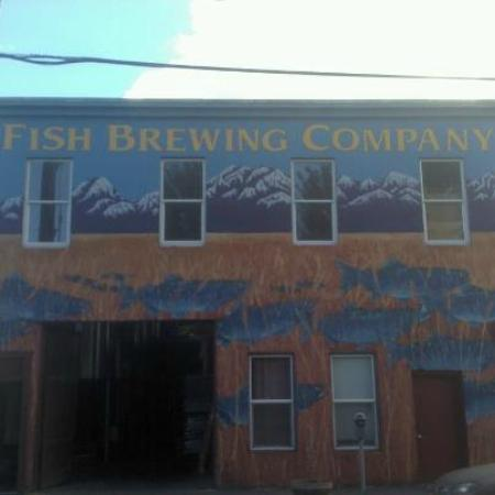 Fish Tale Brew Pub : The Brew House - The restaurant is across the street