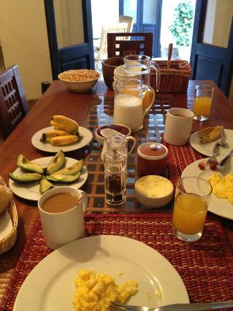 ساكاند هوم كوسكو: Delicious breakfast at Second Home Cusco 