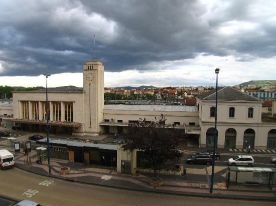 Grand Hotel du Midi : la stazione dalla camera