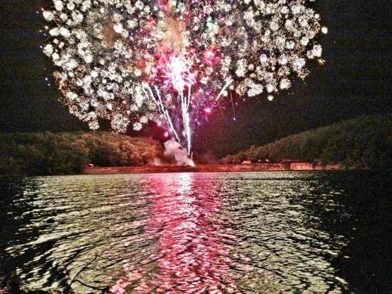Rocky Gap Casino Resort: fireworks at Rocky Gap