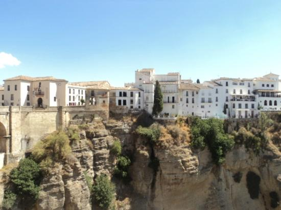 La Ciudad : houses on the cliff