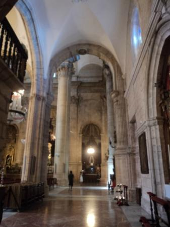 La Ciudad : inside the church of Santa Maria la Mayor