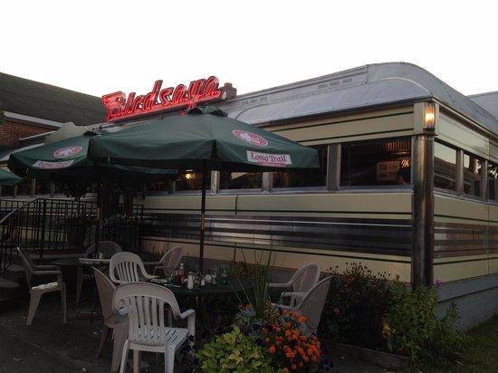 Birdseye Diner: Exterior