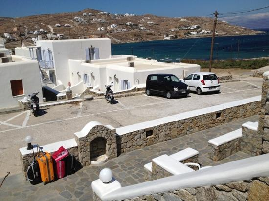 Anixi Hotel Mykonos: parking auto