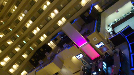 Embassy Suites by Hilton Detroit - Troy/Auburn Hills: view from the hall way outside my room