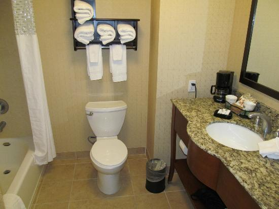 Hampton Inn & Suites Arroyo Grande/Pismo Beach Area: sparkling bathroom