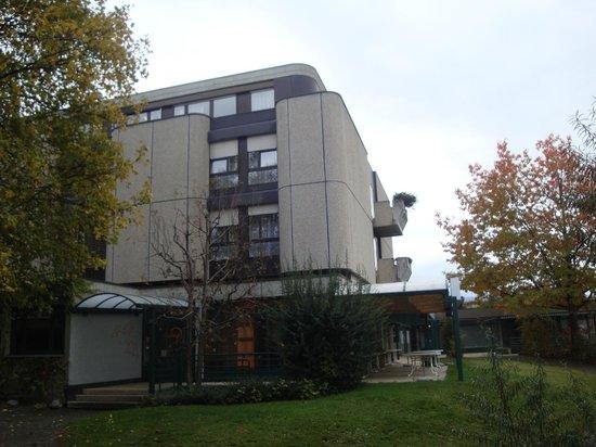 Hotel du Grand-Pre: Vu sud de l'hôtel