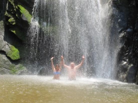 Bay of Banderas: Waterfall