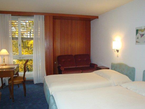 Hotel du Grand-Pre: Chambre double