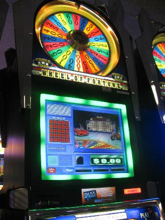 Kickapoo Lucky Eagle Casino: The Wheel of Fortune slot. My favorite!!