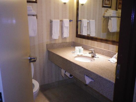 Comfort Suites: Washroom