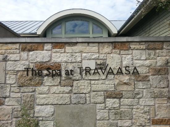 Travaasa Austin: Outside the Spa