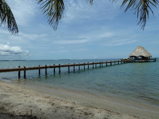 Robert's Grove Beach Resort: The view from my beach chair