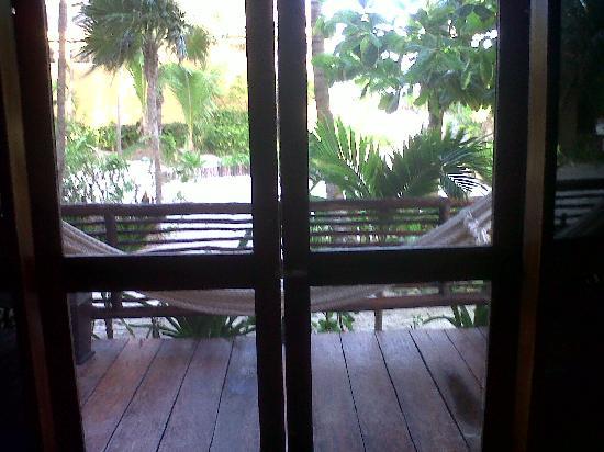 Hip Hotel Tulum: La vista desde mi habitación