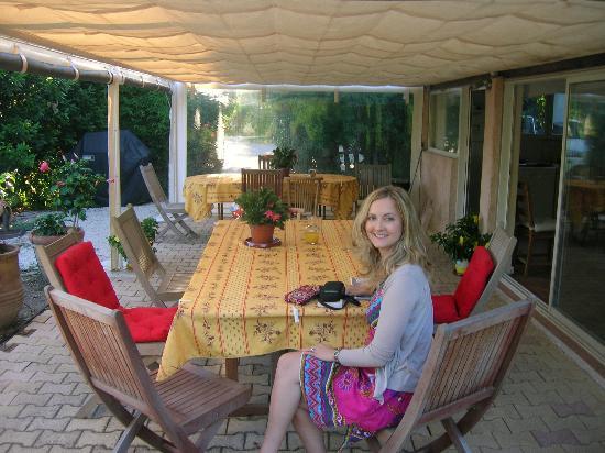 Domaine de l'Aufrene : Breakfast area