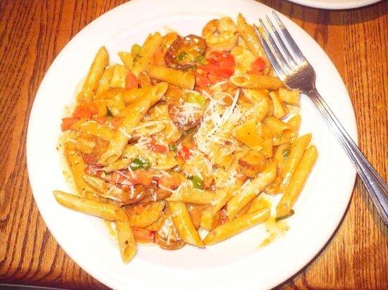 Blue Ridge Grill : King Street Creole Pasta - KING STREET CREOLE PASTA --  Chicken, Shrimp and Andouille Sausage