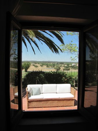 Herdade Outeiro de Esquila : VIew from Master Bedroom at CORNER HOUSE (a 3 bedroom house)