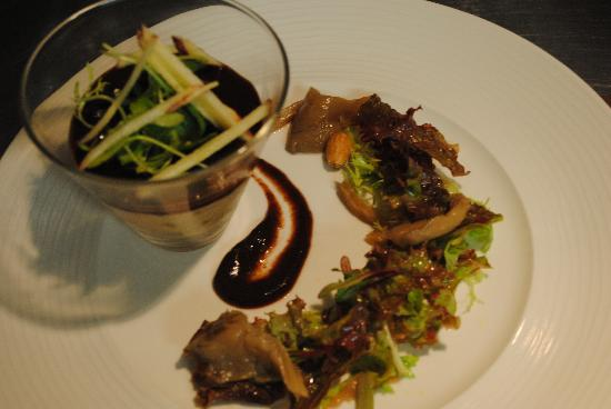 Sheedy's Country House Hotel: rillettes of rabbit