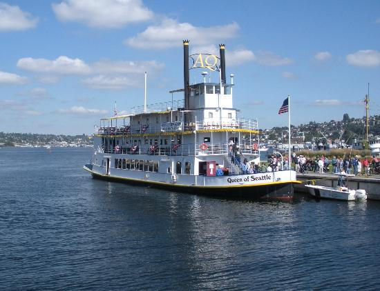 Queen of Seattle Paddle Wheel Cruises : Queen of Seattle Padle Wheel Cruise