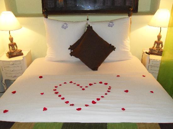 Riad Casa Lila : Notre lit