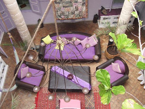 Riad Casa Lila : Salon