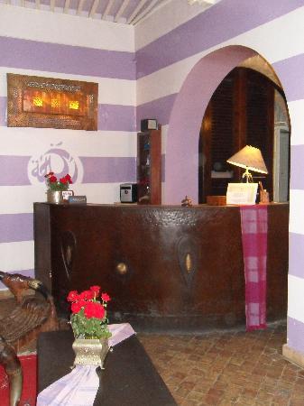 Riad Casa Lila : Réception