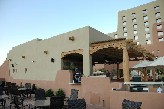 Sandia Casino & Resort: Bar & Grill, Pool area, left side as facing hotel
