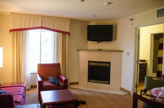 Residence Inn Duluth: King Suite - Fireplace