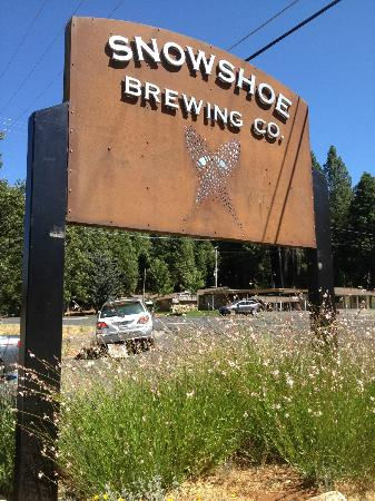Snowshoe Brewing Co: What you see heading north on Highway 4