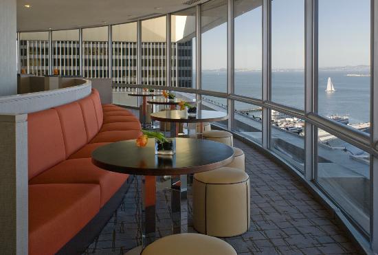 Hyatt Regency San Francisco: Regency Club Lounge
