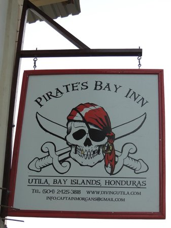Pirate's Bay Inn Dive Resort: our logo!