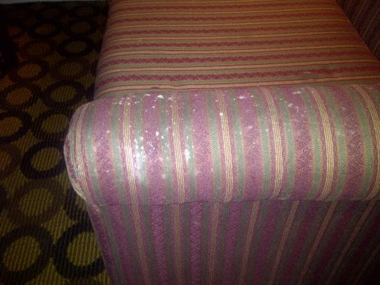 Econo Lodge Richmond Hill: Spots on the couch