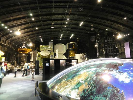 Tsukuba Space Center: 見学施設