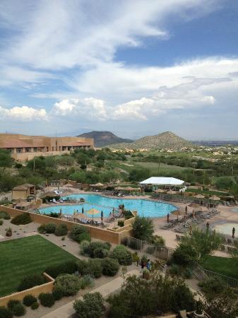 JW Marriott Tucson Starr Pass Resort & Spa: Starr Pass looking toward Tucson