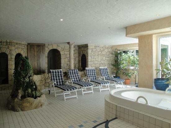 Weisser Hof: Sauna, sauna, steam, spa: whatever you like...