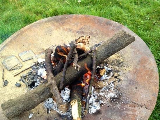 Away From It All: Fire for toasting marshmallows!