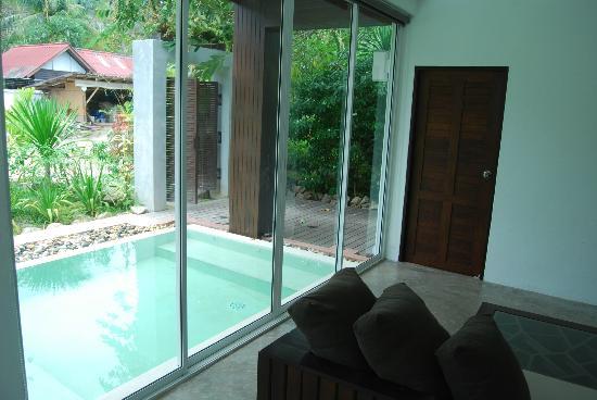 Saireehut Resort: Pool Villa Room (downstairs)