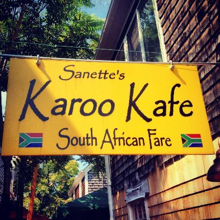 Karoo Kafe Entrance