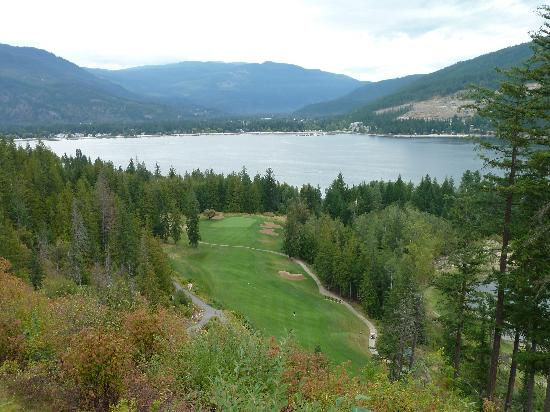 Hyde Mountain on Mara Lake Golf Course: view from fourth hole